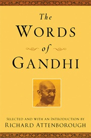 The Words of Gandhi, Richard Attenborough, PHILOSOPHY Books, Vedic Books