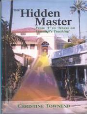 The Hidden Master, Christine Townend, INSPIRATION Books, Vedic Books