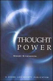 Thought Power, Swami Sivananda, MASTERS Books, Vedic Books