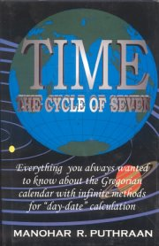 Time the Cycle of Seven, Manohar R. Puthraan, M TO Z Books, Vedic Books ,