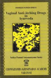 Vaginal Anti-itching Drugs in Ayurveda, Vaidya Pammi Satyanarayana Sastry, AYURVEDA Books, Vedic Books