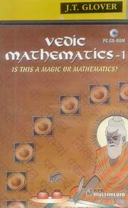 Vedic Mathematics for School (Book-1) With CD, James Glover, VEDIC MATHEMATICS Books, Vedic Books