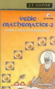 Vedic Mathematics for School (Book-2) With CD, James Glover, VEDIC MATHEMATICS Books, Vedic Books