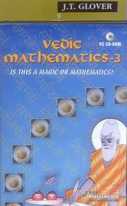 Vedic Mathematics for School (Book-3) With CD, James glover, VEDIC MATHEMATICS Books, Vedic Books