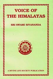 Voice of the Himalayas, Swami Sivananda, SIVANANDA Books, Vedic Books