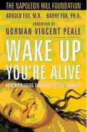 Wake up - You are Alive, Arnold Fox, M.D.,, Barry Fox, HEALING Books, Vedic Books