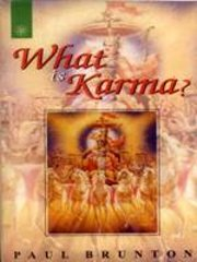 What is Karma, Paul Brunton, NEW AGE Books, Vedic Books