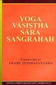 Yoga Vasistha Sara Sangrah By Sage Valmiki At Vedic Books
