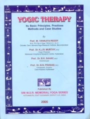 Yogic Therapy, M. Venkata Reddy & others, M TO Z Books, Vedic Books ,